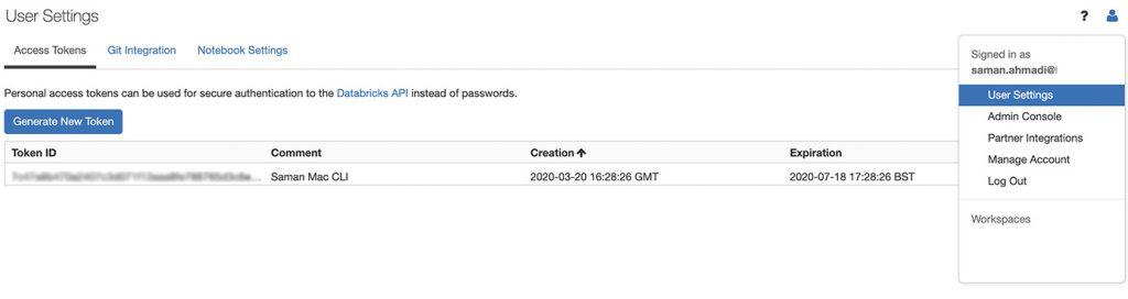 DataBricks Automation with Azure DevOps Pipelines. DataBricks Token.